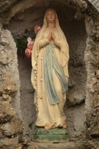 Mary Grotto at St. John the Baptist Catholic Church in Brusly, LA.  BEAUTIFUL!